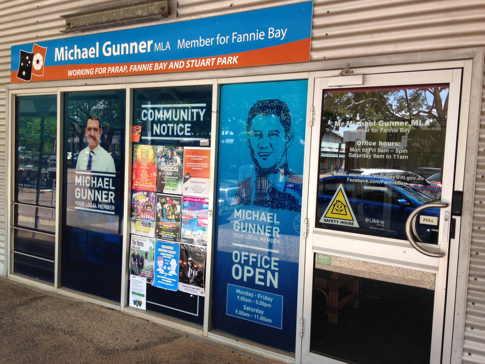 Michael Gunner – Member for Fannie Bay